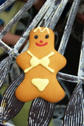 Gingerbread Woman (Photo d'un gingerbread man)