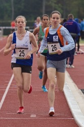 Interclubs de Nemours - 2012 (3) (Photo prise aux interclubs de Nemours 2012 : Chachignon Mathilde sur 1500m)